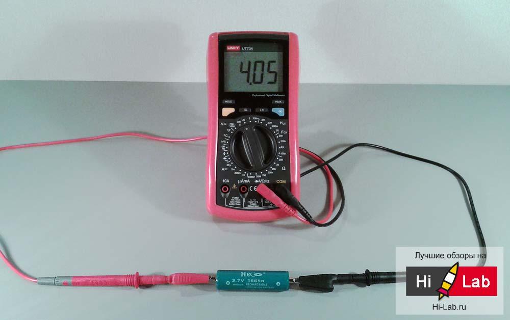 все четыре аккумулятора проявили редкое единодушие и показали одинаковое напряжение